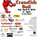 Tomball Athletic Booster Club Crawfish Boil – April 6th!