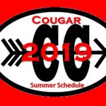 Cougar Cross Country 2019 Summer Schedule and Process Sheet – GET IT HERE!