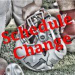 JV Football 9/5 Game Schedule Update!