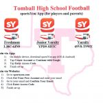 Get Connected to THS Football for Parent and Player