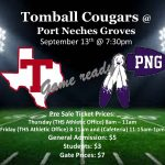 Cougars vs PNG – Ticket Sales and Spirit Bus Information