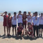 Cougar Cross Country…Galveston Beach Run!