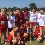 Boys Junior Varsity Cross Country finishes 1st place at Cross Country Event