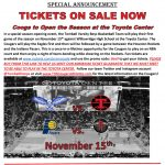 Nov 15th – B Basketball vs Willowridge at the Toyota Center – Ticket Info!
