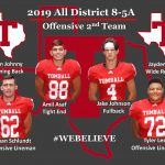 2019 All District – Offensive 2nd Team!