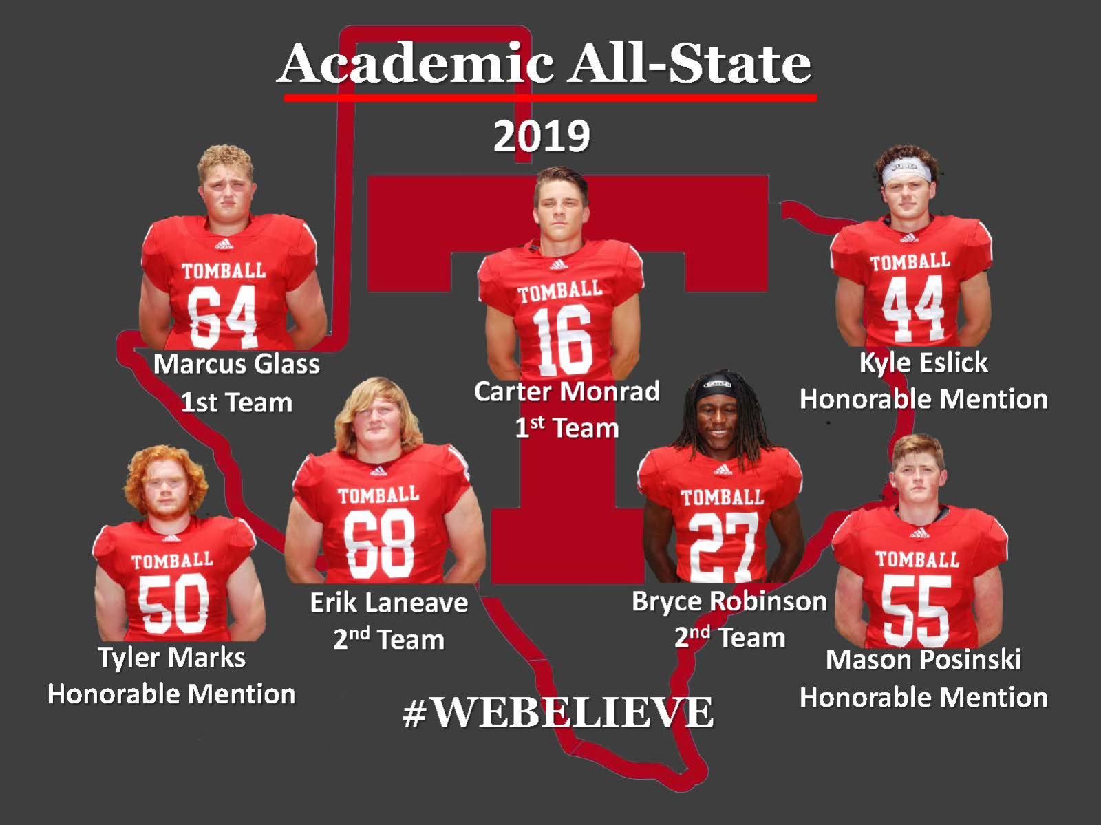 2019 FOOTBALL ACADEMIC ALL STATE