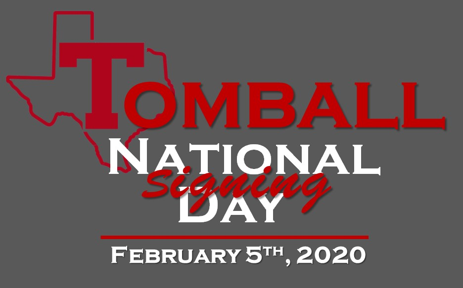 Tomball High National Signing Day – 2020!