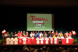 Tomball – National Signing Day – 2020!
