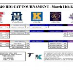 Big Cat Varsity Baseball Tournament Schedule!