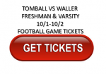 THS vs Waller (10/2)- Away Game Ticket Information