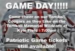 GAME DAY! THS vs. TMHS at Kyle Field (10/16)