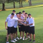 Boys JV Golf Gains the Panther Cup