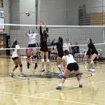 Girls Volleyball Gain Section Win Over Canon Mac