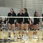 Girls Volleyball Gets Win Over Moon