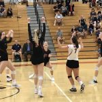 Girls Volleyball Comes Up Short in Thriller