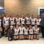 MS Girls Volleyball Wins Tournament