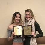 Isabella Walsh and Alex Amos Named All-State Volleyball