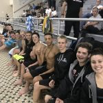 USC Swimming and Diving Fall to North Allegheny