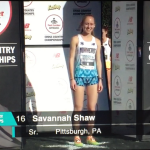 Savannah Shaw Earned 16th Place in Footlocker National Cross Country Finals