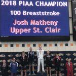 Boys Swimming MVP – Josh Matheny