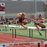 Boys And Girls Track Teams Host Meet And Senior Recognition Day