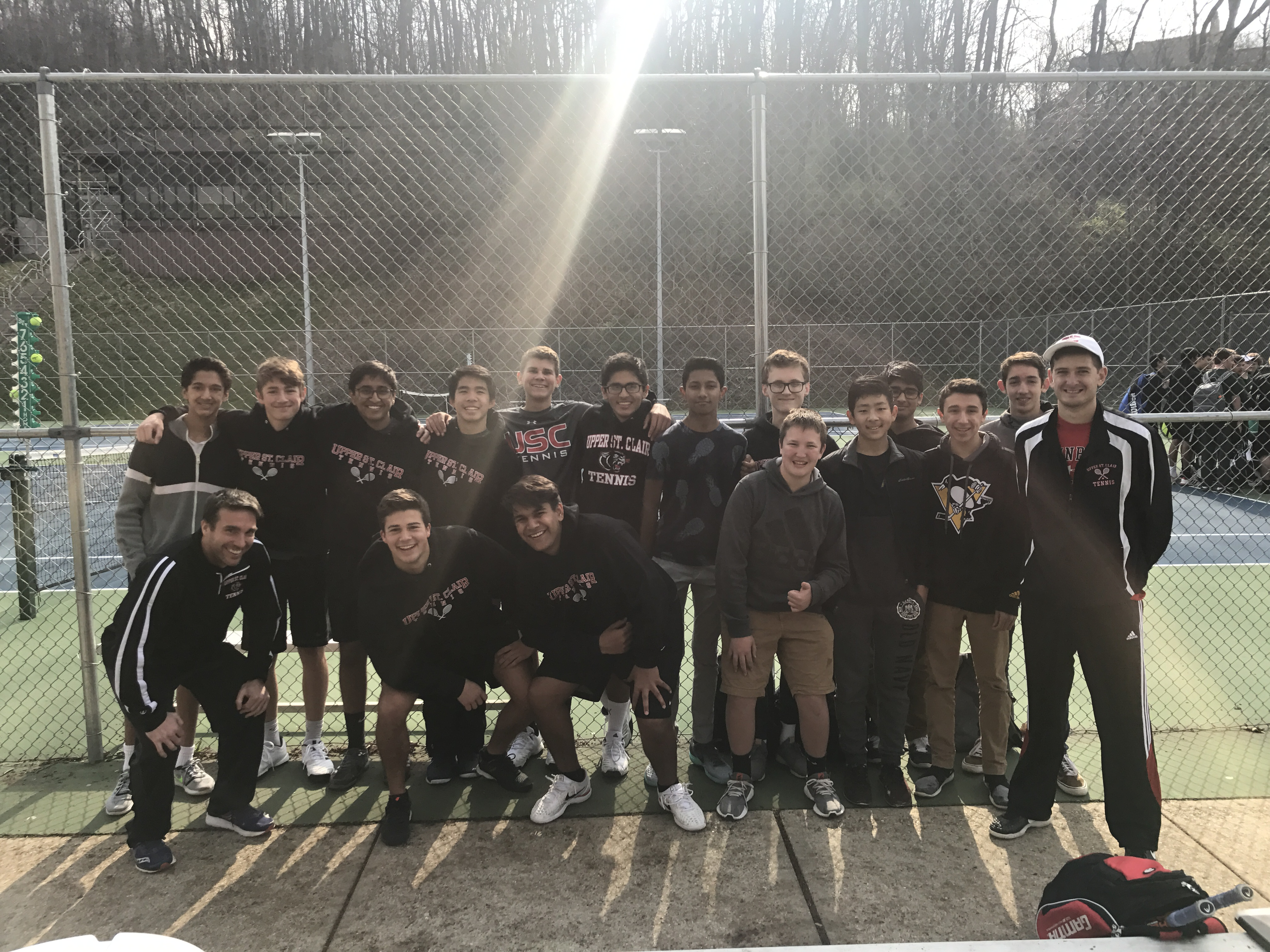 USC Boys Tennis Advances With Win In WPIAL Tournament