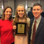 Savannah Shaw Gets WPIAL Scholar Athlete Award