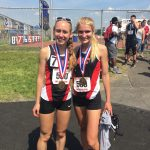 Savannah Shaw and Jane Madson Medal at State Championships