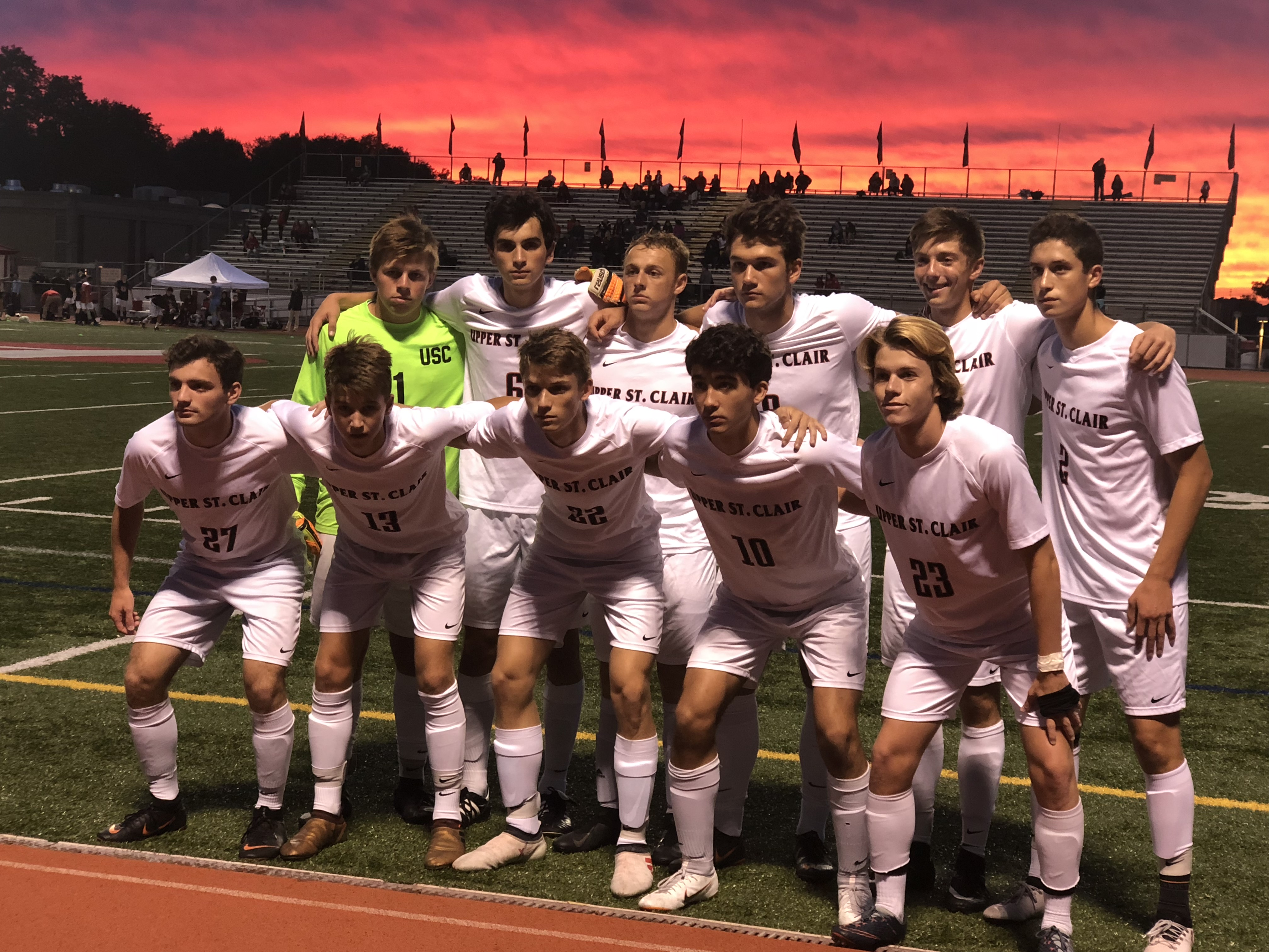 USC Boys Soccer Get Tough Section Road Win Against Peters Township