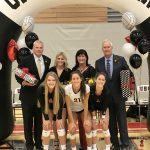 Girls Volleyball Lose In Thriller On Senior Night