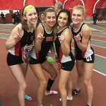 Indoor Track & Field Have Strong Showing At Edinboro University