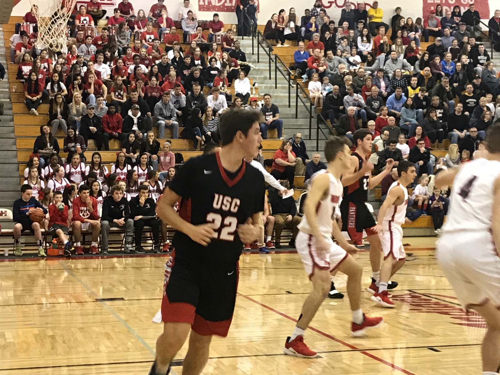 USC Boys Basketball Get Win At North Hills