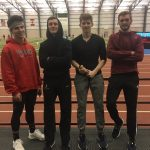 Indoor Track Competes At Spire Invite