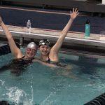 USC Boys and Girls Swimming Splits With Mount Lebanon