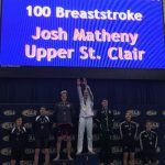 Josh Matheny Sets NFHS Record In 100 Breaststroke