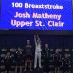 Josh Matheny Sets NFHS Record In 100 Breaststroke