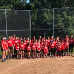 Girls Softball Hold Successful Youth Camp