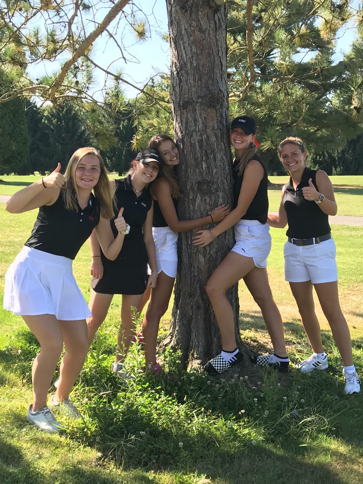 USC Girls Golf Compete In WPIAL Sectionals