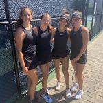 USC Tennis Compete In Section Doubles