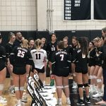 USC Girls Volleyball Fall To North Allegheny