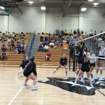 USC Girls Volleybal Falls To Baldwin