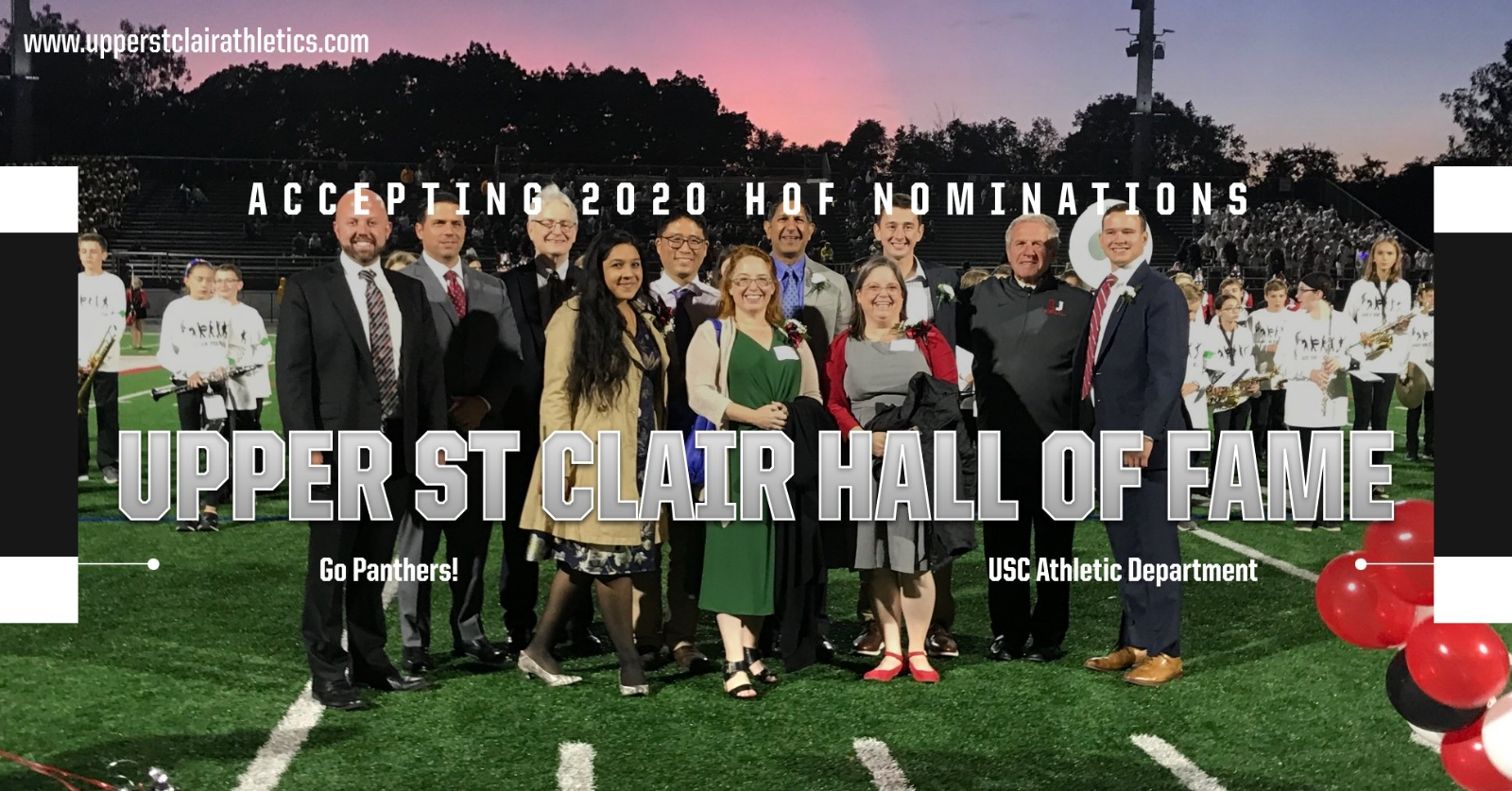 Now Accepting 2020 Athletic Hall Of Fame Nominations Through June 30th!
