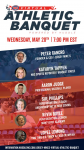 Virtual Athletic Banquet Invite!