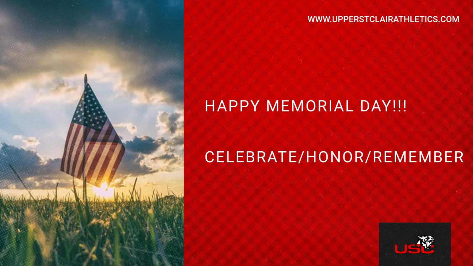 Happy Memorial Day!!!