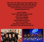 Dance and Hip Hop Tryouts To Go Virtual June 24th!
