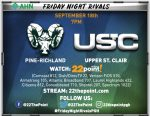 USC Football To Play Pine-Richland – Game information!