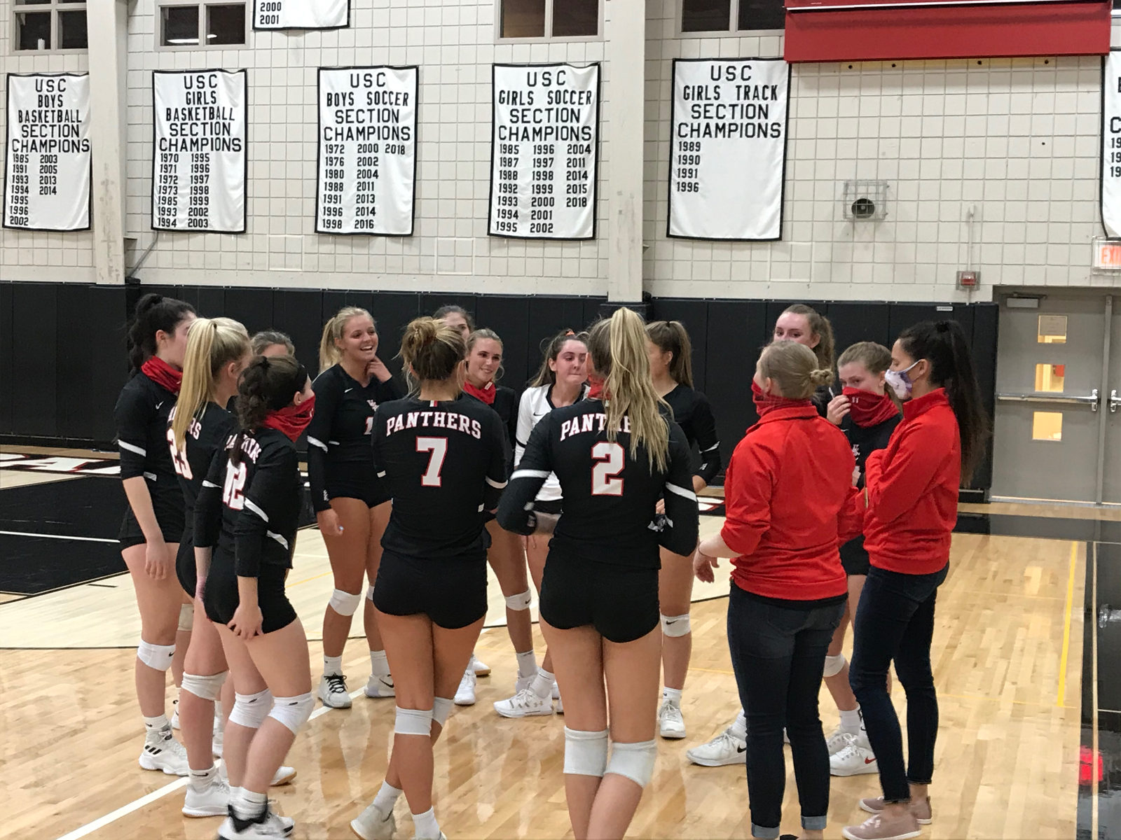 Girls Volleyball Earn Section Win Over Peters Township!