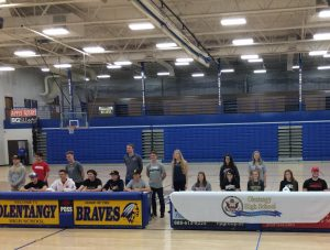 April 11th Athletic Signing