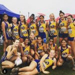 Girls XC Battle Strong in the Mud