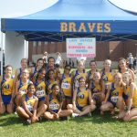 OHS Lady Braves XC Compete at Harding Invitational